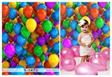 Laeacco 3x5ft Vinyl Thin Photography Backgrounds Colored Balloons Theme Photo Backdrop 1*1.5m Studio Props