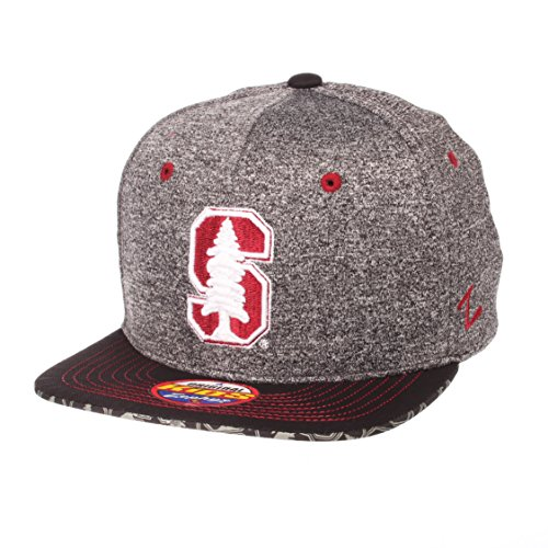 ZHATS NCAA Stanford Cardinal Children Boys Prodigy Youth Snapback Hat, Youth Adjustable, Gray/Team Color