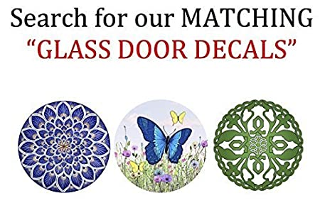 Screen Door Magnets Keep People and Pets from Walking into a screen door Click and Lock Twist Pet Rescue