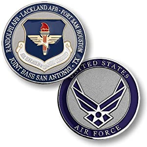 Air Education and Training Command, Joint Base San Antonio, TX Challenge Coin