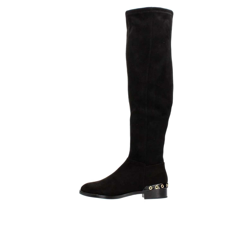 Cafèschwarz LLB911 Stiefel Damen schwarz 36