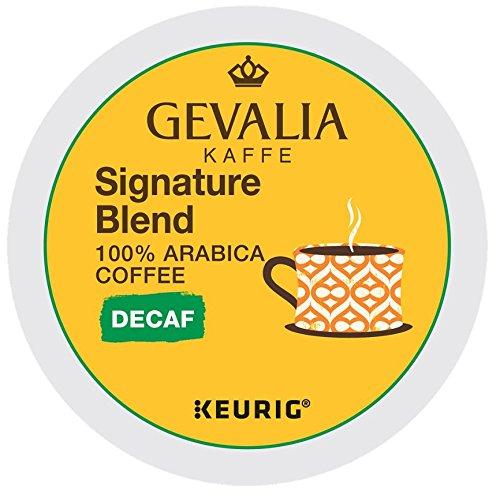 - Gevalia Signature Blend Decaf K-Cup Packs, 96 Count