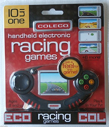 Picture of a Coleco Handheld Electronic Racing Games 797307168808