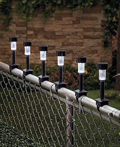 GetSet2Save Solar Railing Lights Black product image