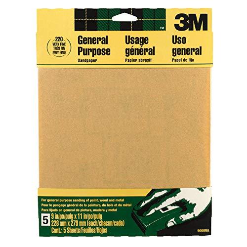 3M 9000NA-20-CC Sandpaper Aluminum
