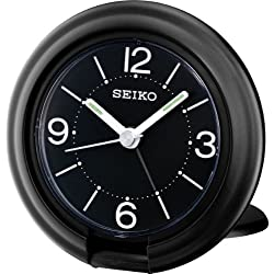 Seiko QHT012K - Analog Alarm Clock Suitable for Travellers