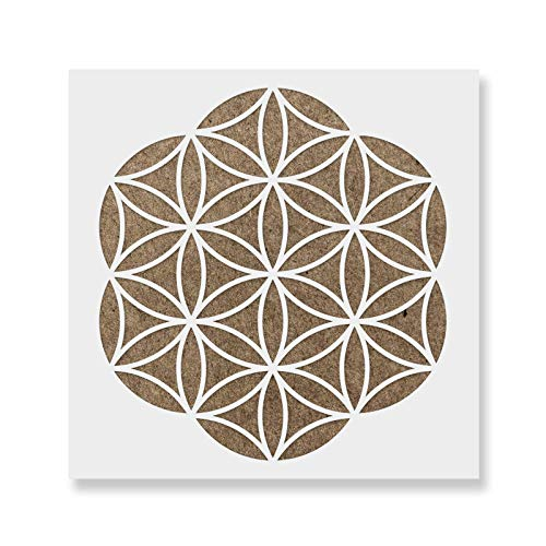 Life Template - Flower of Life Stencil Template - Reusable Stencil with Multiple Sizes Available