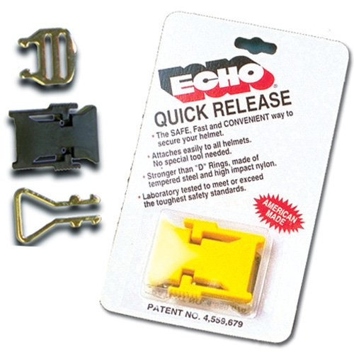 Echo Products Helmet Quick Release Yellow