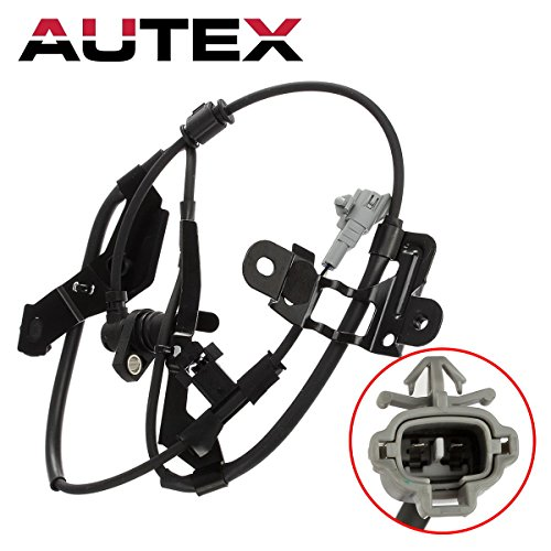 (AUTEX ABS Wheel Speed Sensor Front Left 89543-35050 ALS732 compatible with Toyota 4Runner 1996 1997 1998 1999 2000 2001 2002 2.7L 3.4L/Toyota Tacoma 1998 1999 2000 2.4L 4WD 3.4L 4WD 2.7L)