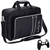 G-STORY Case Storage Bag for PS5, Console Carrying Case Compatible Playstation 5 and PS5 Digital Edition, Travel PS5 Bag…