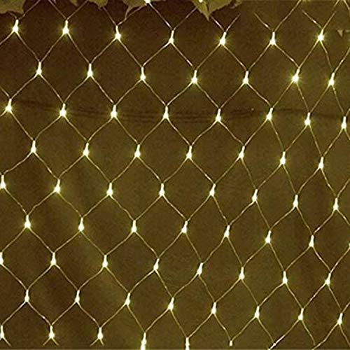 YAMAIDE Luz de la Cadena de LED Luz de Hadas Decoración de la Boda Luz de Hadas Interior y Exterior Jardín Césped Navidad...