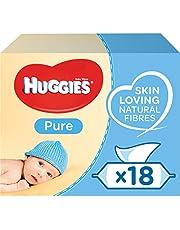 Huggies Baby Wipes, Pure, 18 Packs (1008 Wipes Total)