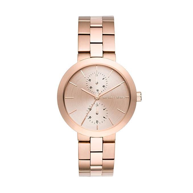 Michael Kors Reloj Analógico para Mujer de Cuarzo con Correa en Acero Inoxidable MK6409: Michael Kors: Amazon.es: Relojes