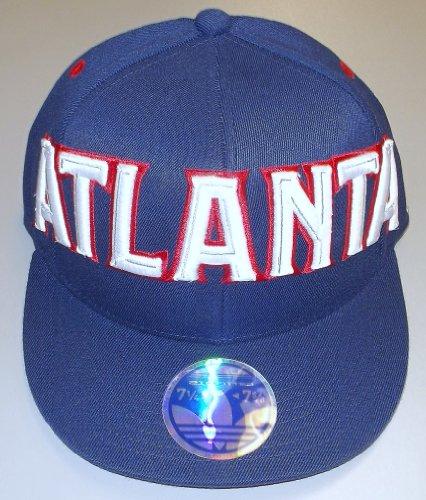 - Atlanta Hawks 210 Flat Brim Flex Adidas Hat - Size L/XL - TV40Z