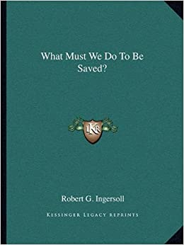 Book What Must We Do to Be Saved?