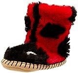 Hatley Girls' Slouch Slipper - Ladybug - Large (11-13)