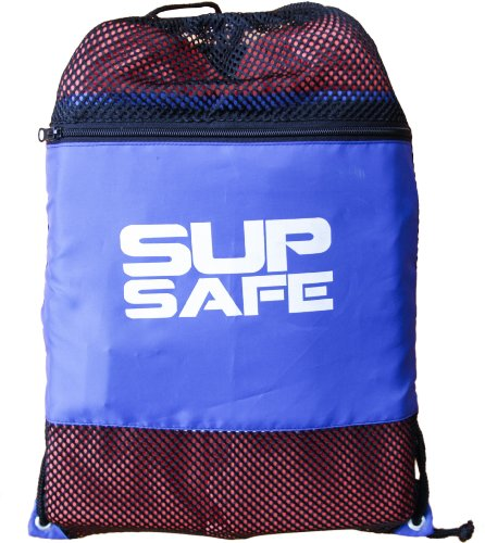 Board Type - SurfStow 50040 SUP Safe, PFD with Waterproof Backpack, Includes Whistle and Suction Cups