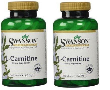 Swanson Premium L Carnitine Bottles Tablets