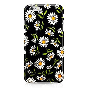 Floral Chamomile Pattern Indie Girls Flowers Nature Vintage Spring Summer Hard Plastic Snap-On Case For Iphone 7