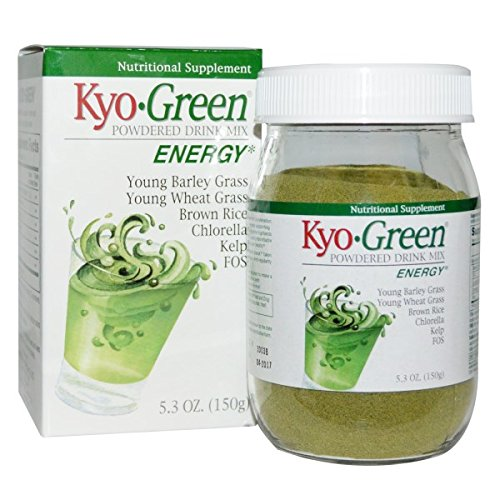 Wakunaga - Kyolic, Kyo-Green Powdered Drink Mix, 5.3 oz (150 g) Kyo Green Drink