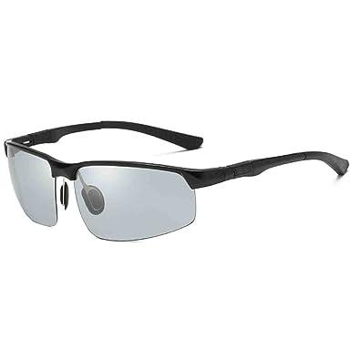 Sonnenbrille Anti-Glare Anti-UV polarisierte Licht Sonnenbrillen Gradient Farben Linse UFDi3V
