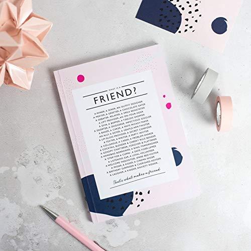 Friend Gift - Friendship Poem - Bridesmaid Gift - Best Friend Gift - Friendship Gift - A5 Notebook - Best Friend Birthday - Friend Poem