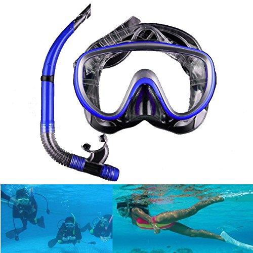 Schnorchel Gape Diving Snorkel Goggles Diving - Anti Fog Half Dry Snorkel Goggles Diving Glasses Scuba Swimming Mask Water Sports Equipment - Schnorkel Gawk Event Breather Gawp - 1PCs