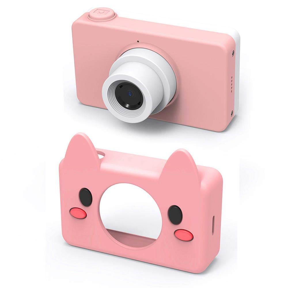 Giokfine 2019 Kids Toys Camera Compact Cameras for Children Gifts, 8MP HD Video Camera Gifts (Pink) by Giokfine (Image #8)