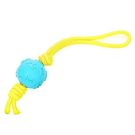 Hzb821zhup Pelota de Cuerda de algodón Juguete para Perro Huella ...
