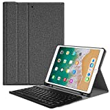 Fintie Keyboard Case with Built-in Pencil Holder for iPad Air 2019 3rd Gen iPad Pro 10.5