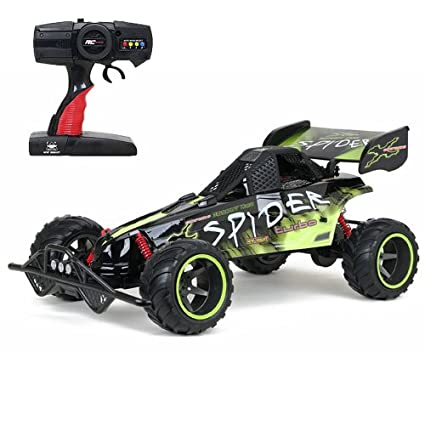 New Bright F/F 9 6V Baja Extreme Spider Buggy RC Car (1:6 Scale)
