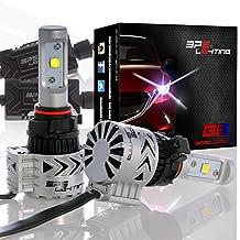 BPS Lighting G8 LED Headlight Bulbs Kit w/Clear Arc Beam 72W 12000LM 6000K - 6500K White Cree XHP50 LED Headlight Conversion for Replacement Halogen Bulb Headlights - (2pcs/set) (5202/H16)