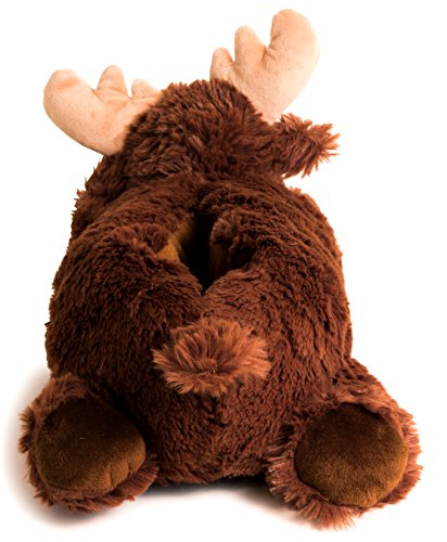 Lazy Medium Slippers Adult Only Moose Animal Sized Paws Size xYfOAxq