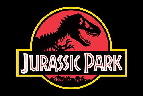 Jurassic Park Poster Classic Logo, Multicolor, 61 x 91.5cm