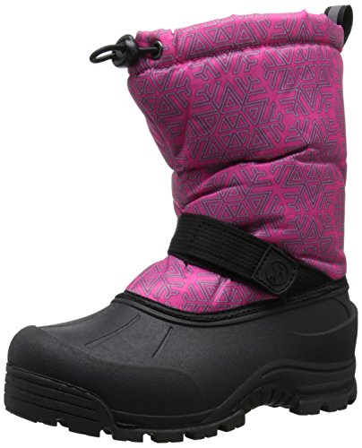 Northside Frosty Winter Boot (Toddler/Little Kid/Big Kid),Fuchsia/Silver,12 M US Little Kid