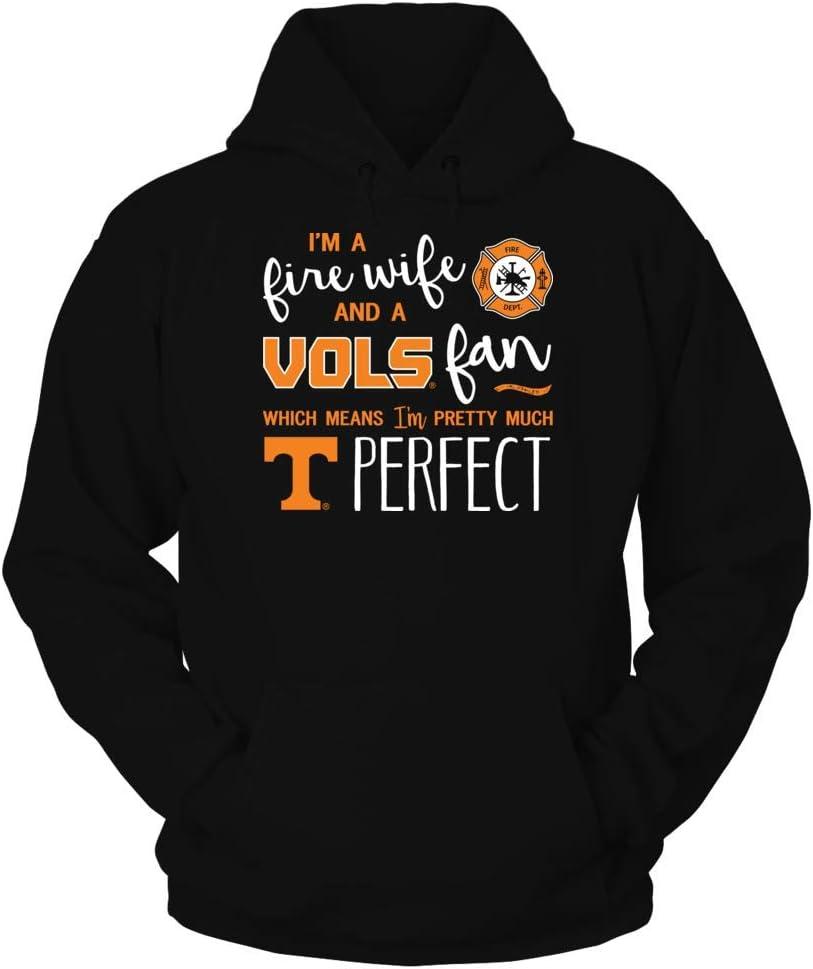 Tank FanPrint Tennessee Volunteers T-Shirt Perfect Fire WifeFan T-Shirt
