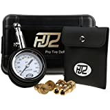 HJZ Rapid Tire Deflator Kit with Tire Pressure Gauge - for car, truck, motorcycle ATV quickly deflate to desired presser