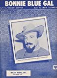 img - for Bonnie Blue Gal (Lyrics, Music & Ukulele Tuning) (Introduced and Recorded by Mitch Miller and Chorus) book / textbook / text book