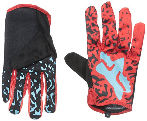 Fox Head Men's Demo Gloves, Red, X-Large
