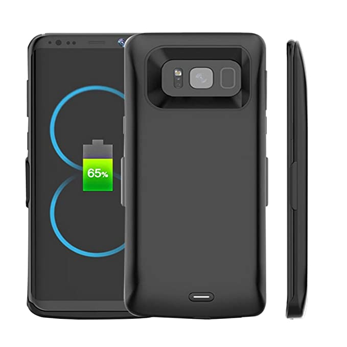 best sneakers a64c0 5de46 Idealforce Galaxy S8/S8 Plus Battery Case,5000-5500mAh External Power Bank  Cover Portable Charger Protective Charging Case Samsung Galaxy S8/S8 Plus  ...