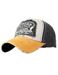 Topda123 Unisex Vintage Washed Adjustable Cotton Caps Hats