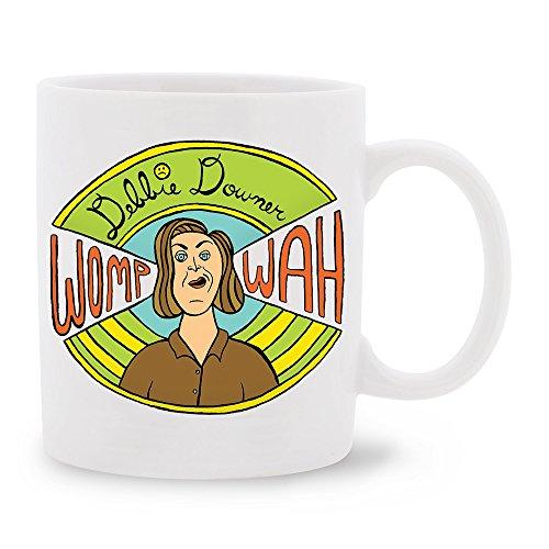Saturday Night Live Debbie Downer Porcelain Mug, 11-Ounce]()