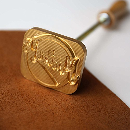 Custom Logo Wood Branding Iron,Durable Leather Branding Iron Stamp (1.5