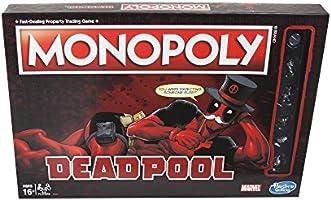 Hasbro Gaming Monopoly Game: Marvel Deadpool Edition: Amazon.es: Juguetes y juegos