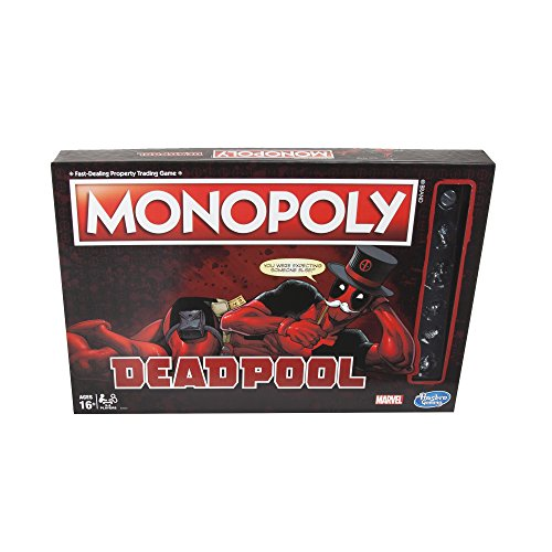 Monopoly Game: Marvel Deadpool - Edition Game Monopoly