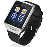 ZGPAX S8 Android 4.4 Dual Core Smart Watch Phone,1.54inch LG Multi-point