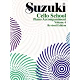 Suzuki Cello School Volume 4 - Piano Accompaniment - Book