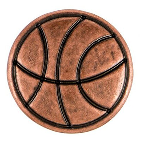 Ginger Snaps Petite Copper Basketball Snap GP14-03 ()