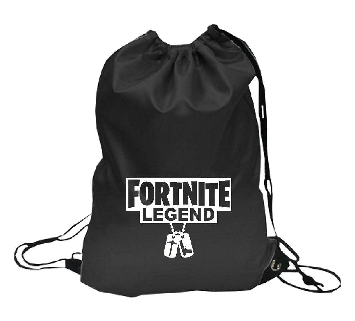 VinylStudio Fortnite Legend Dogtag Drawstring Bags