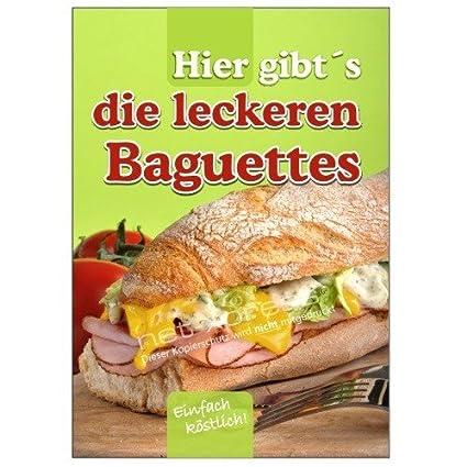 Net-Xpress® Placa Belegte Baguettes Din A1, Cartel de ...